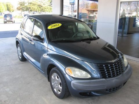Steel Blue Pearlcoat 2002 Chrysler PT Cruiser