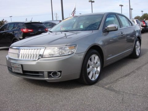 Vapor Silver Metallic 2008 Lincoln MKZ Sedan
