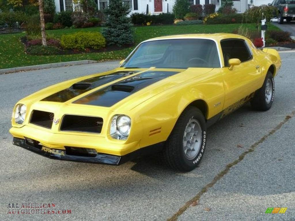 1976 Pontiac Firebird Formula 400 In Goldenrod Yellow