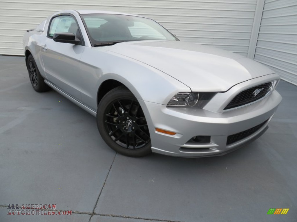 2014 Ford Mustang V6 Coupe In Ingot Silver 247286 All