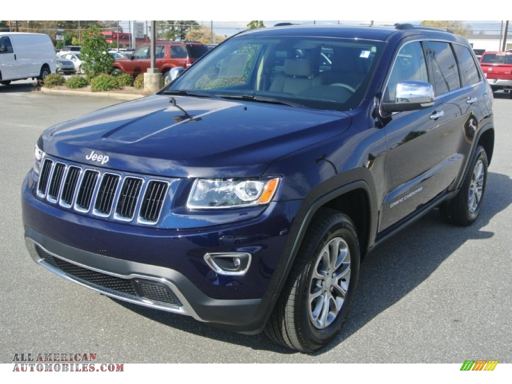 Ron Lewis Dodge >> 2014 Jeep Grand Cherokee Limited 4x4 in True Blue Pearl photo #16 - 339764 | All American ...