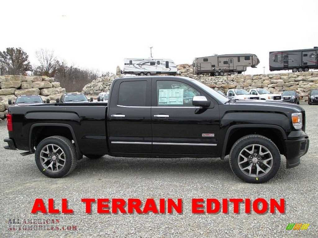2014 gmc sierra 1500 slt double cab 4x4 in onyx black 195120 all american automobiles buy. Black Bedroom Furniture Sets. Home Design Ideas