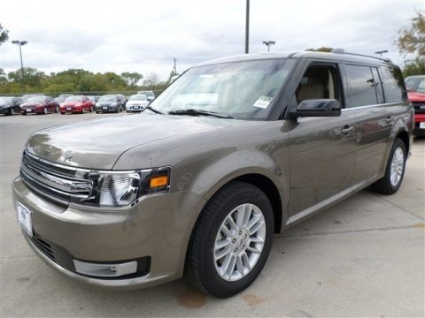 Mineral Gray 2014 Ford Flex SEL