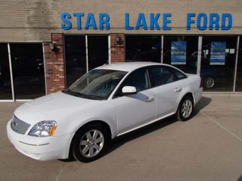 Oxford White 2007 Ford Five Hundred SEL