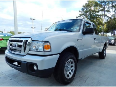 Silver Metallic 2010 Ford Ranger XLT SuperCab