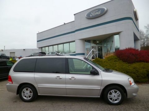 Silver Birch Metallic 2005 Ford Freestar SEL