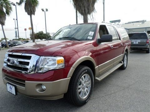 Ruby Red 2014 Ford Expedition EL XLT