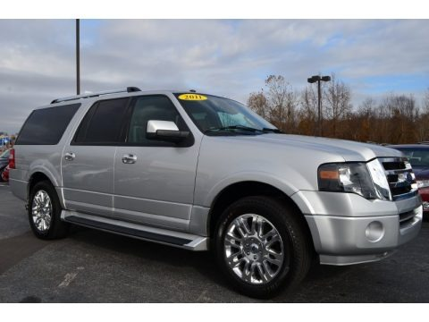 Ingot Silver Metallic 2011 Ford Expedition EL Limited
