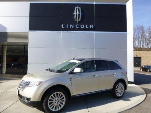 Gold Leaf Metallic 2011 Lincoln MKX AWD