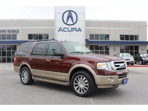 Royal Red Metallic 2011 Ford Expedition XLT