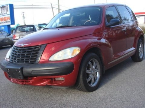 Inferno Red Pearl 2003 Chrysler PT Cruiser Limited