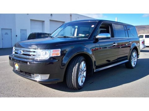 Tuxedo Black Metallic 2011 Ford Flex Limited AWD