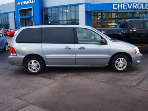Pewter Metallic 2007 Ford Freestar SEL