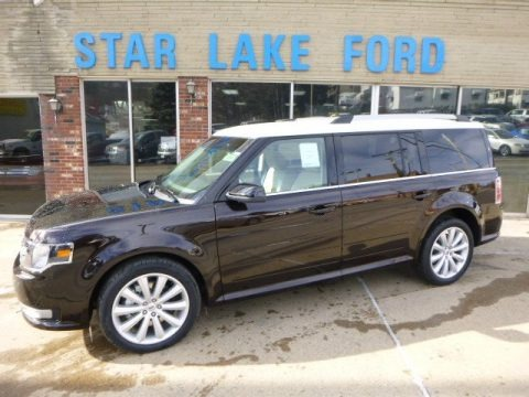 Kodiak Brown 2014 Ford Flex SEL AWD