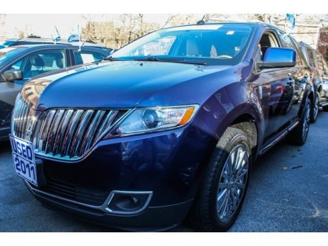 Kona Blue Metallic 2011 Lincoln MKX AWD