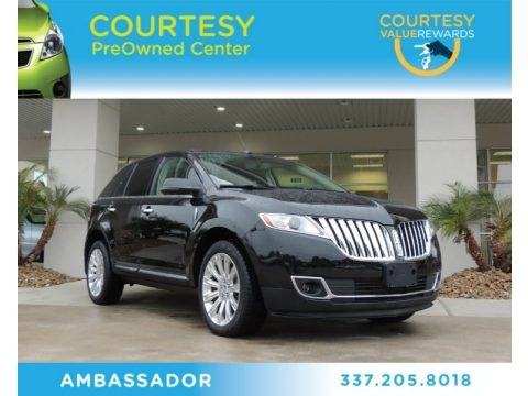 Black 2012 Lincoln MKX AWD