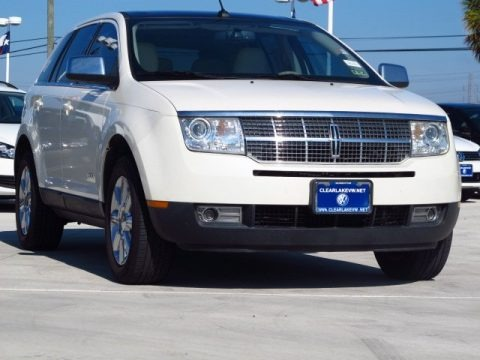 White Chocolate Tri Coat 2007 Lincoln MKX
