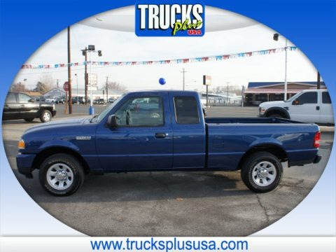 Vista Blue Metallic 2011 Ford Ranger XLT SuperCab