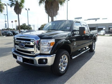 Tuxedo Black Metallic 2014 Ford F250 Super Duty Lariat Crew Cab 4x4