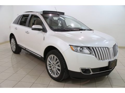 White Platinum Tri-Coat 2013 Lincoln MKX FWD