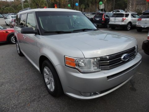 Ingot Silver Metallic 2012 Ford Flex SE