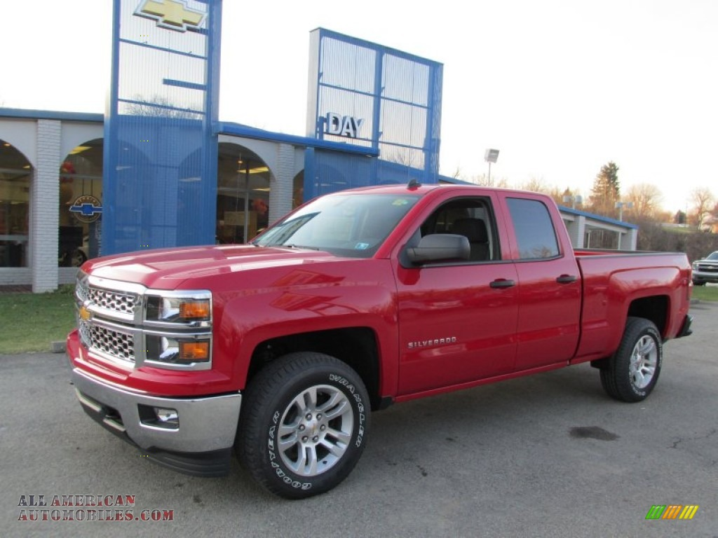 2014 chevrolet silverado 1500 lt double cab 4x4 in victory red 177708 all american. Black Bedroom Furniture Sets. Home Design Ideas
