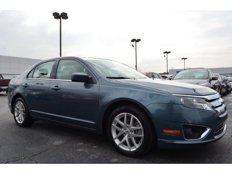 Steel Blue Metallic 2012 Ford Fusion SEL