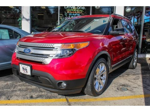 Red Candy Metallic 2012 Ford Explorer XLT 4WD