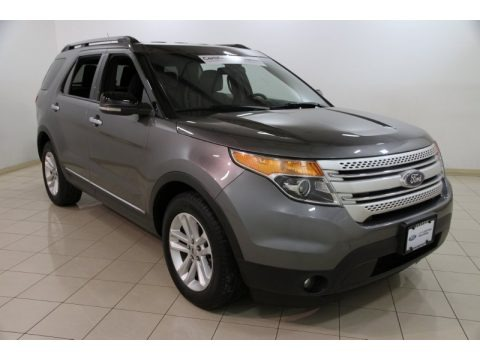 Sterling Grey Metallic 2011 Ford Explorer XLT