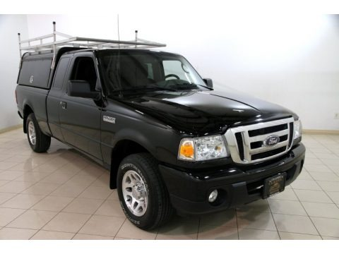 Black 2011 Ford Ranger XLT SuperCab
