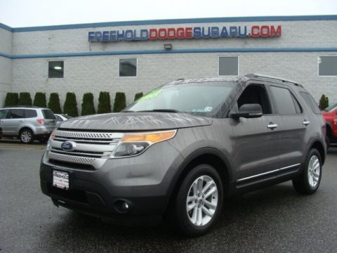 Sterling Grey Metallic 2011 Ford Explorer XLT 4WD