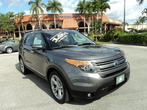 Sterling Gray Metallic 2013 Ford Explorer Limited