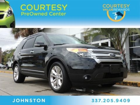 Tuxedo Black Metallic 2013 Ford Explorer XLT
