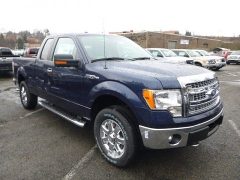 Blue Jeans 2014 Ford F150 XLT SuperCab 4x4