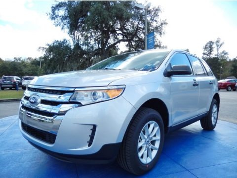 Ingot Silver Metallic 2013 Ford Edge SE