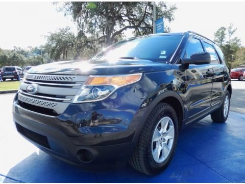 Tuxedo Black Metallic 2013 Ford Explorer FWD