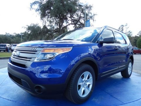 Deep Impact Blue 2014 Ford Explorer FWD
