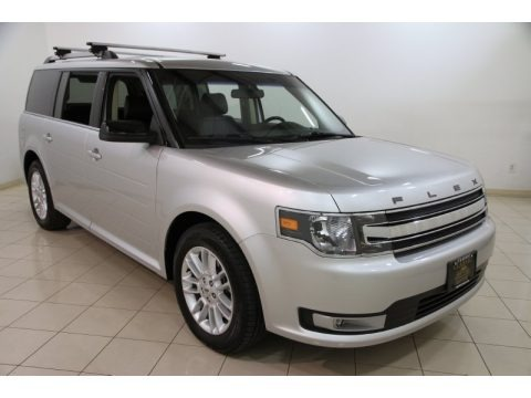 Ingot Silver Metallic 2013 Ford Flex SEL
