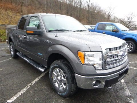 Sterling Gray Metallic 2013 Ford F150 XLT SuperCrew 4x4
