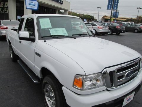 Oxford White 2011 Ford Ranger XLT SuperCab