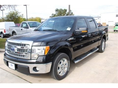 Tuxedo Black Metallic 2013 Ford F150 XLT SuperCrew