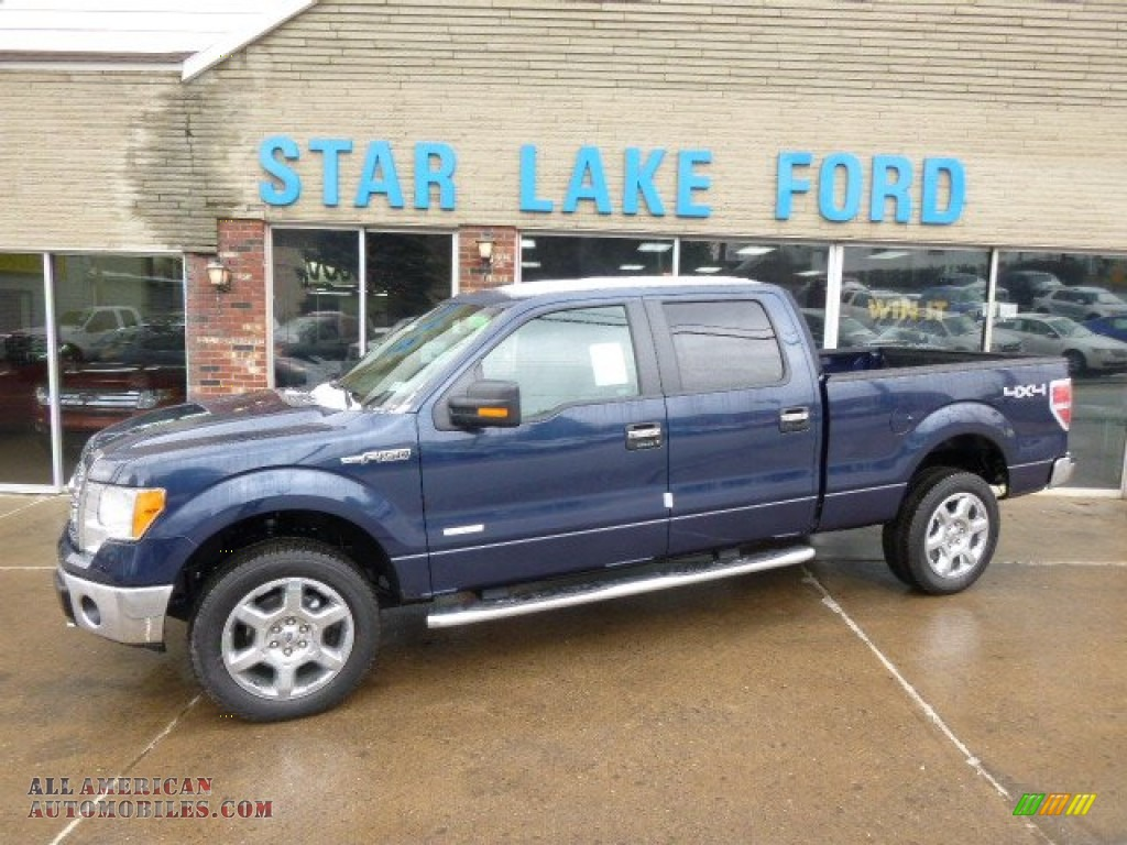 2014 ford f150 xlt supercrew 4x4 in blue jeans a09840 all american automobiles buy. Black Bedroom Furniture Sets. Home Design Ideas