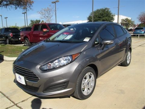 Storm Gray 2014 Ford Fiesta SE Sedan