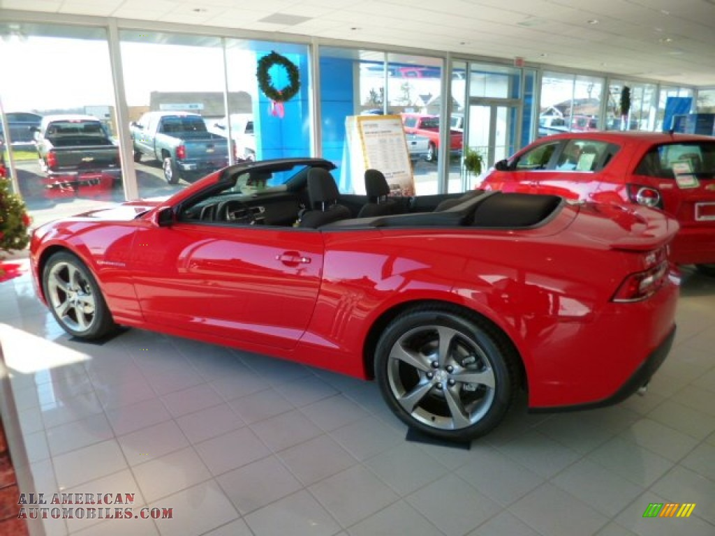 2014 chevrolet camaro lt rs convertible in red hot photo 4 214257 all american automobiles. Black Bedroom Furniture Sets. Home Design Ideas