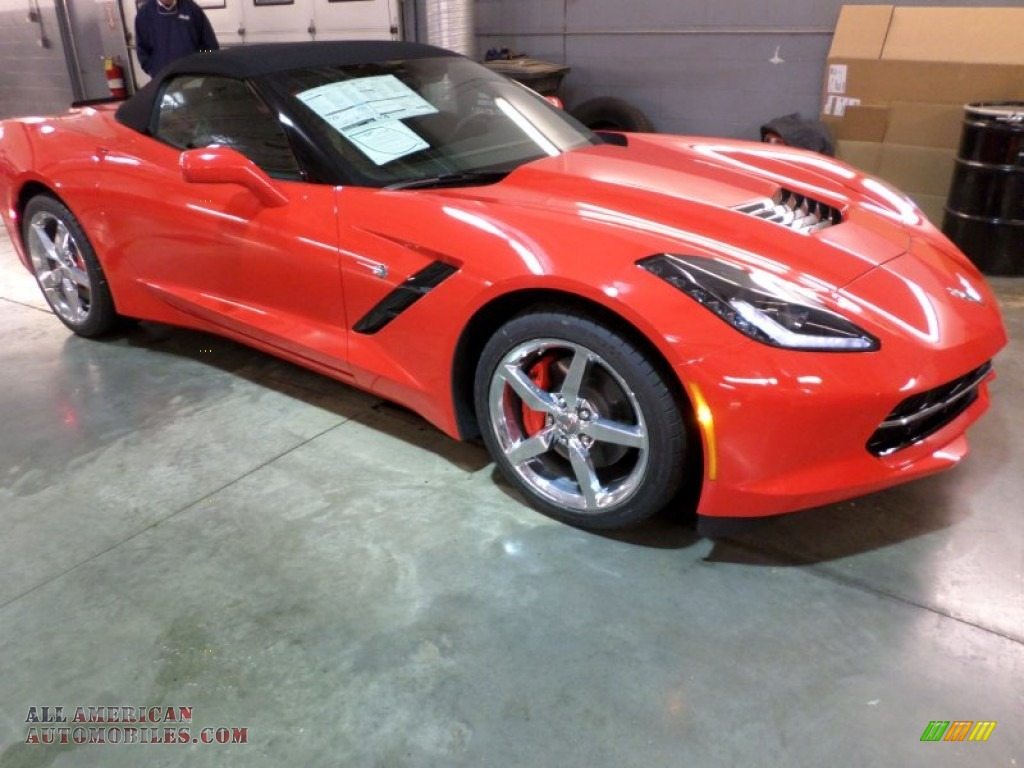2014 chevrolet corvette stingray convertible in torch red 109877. Cars Review. Best American Auto & Cars Review