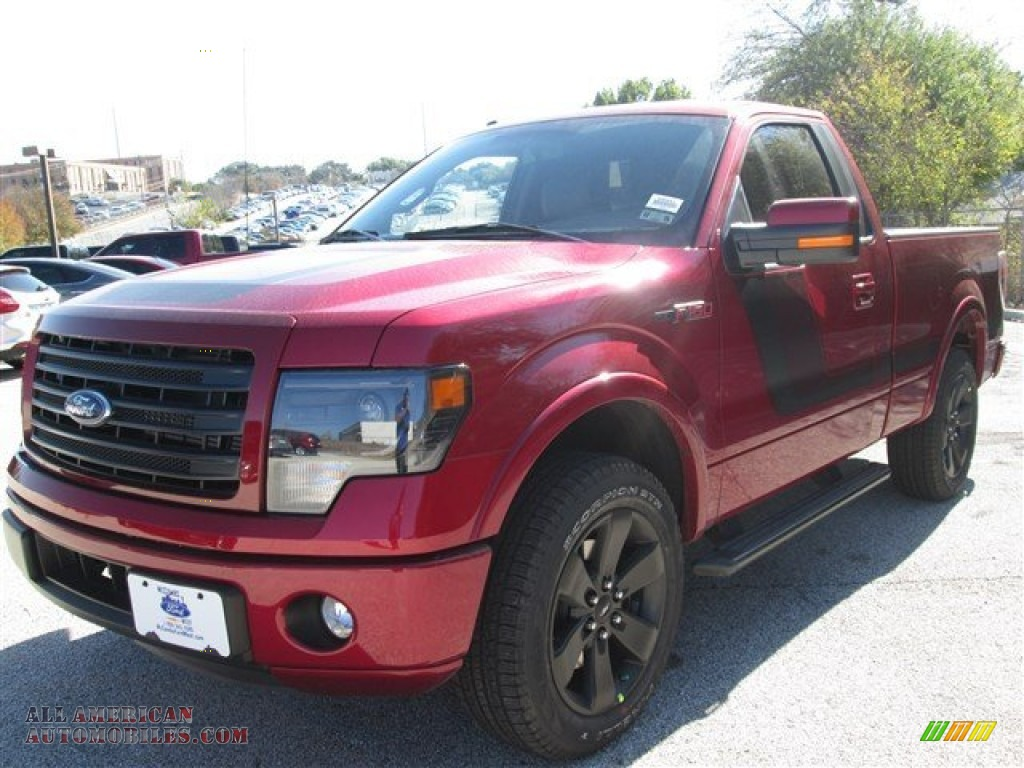 2014 ford f150 fx2 tremor regular cab in ruby red photo 5. Black Bedroom Furniture Sets. Home Design Ideas