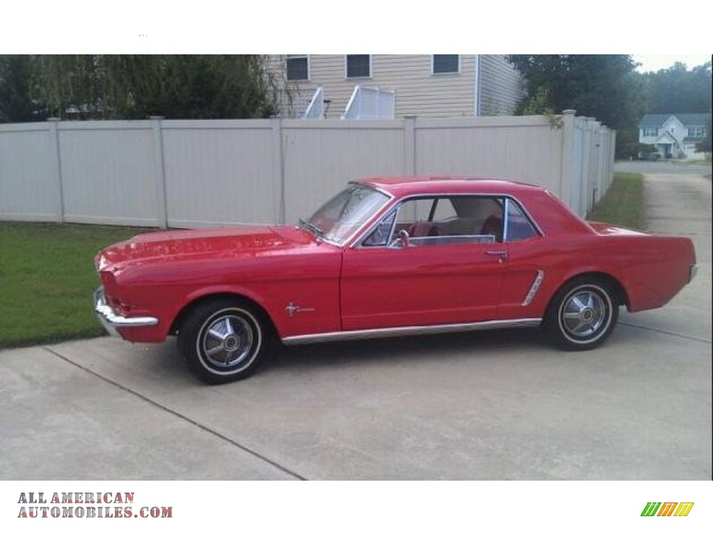 1965 Ford Mustang Coupe In Red 196598 All American