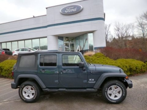 2010 Jeep Wrangler Unlimited Sport 4x4 In Dark Charcoal