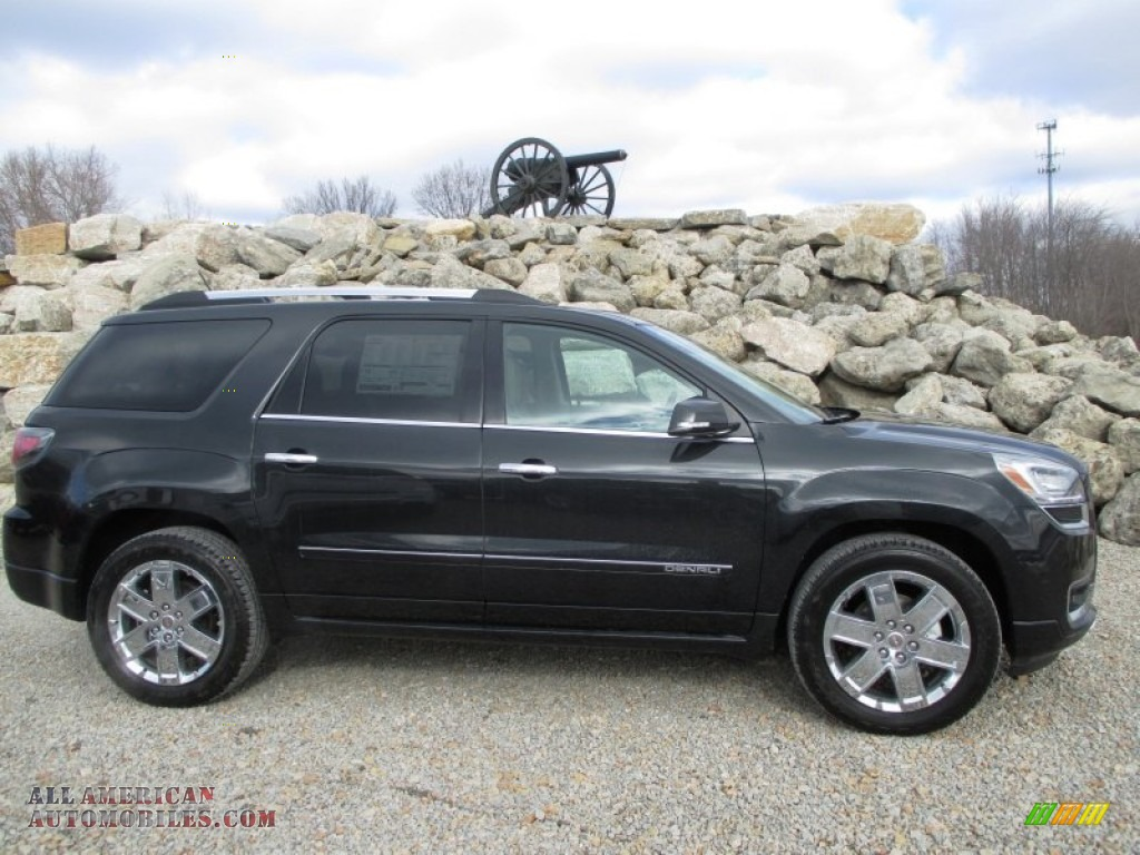 2014 gmc acadia denali awd in carbon black metallic 238473 all american automobiles buy. Black Bedroom Furniture Sets. Home Design Ideas