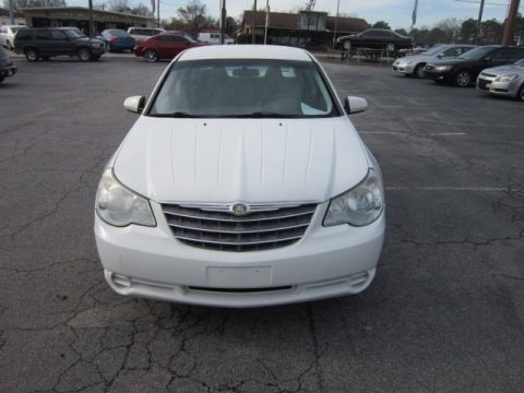 Stone White 2007 Chrysler Sebring Sedan